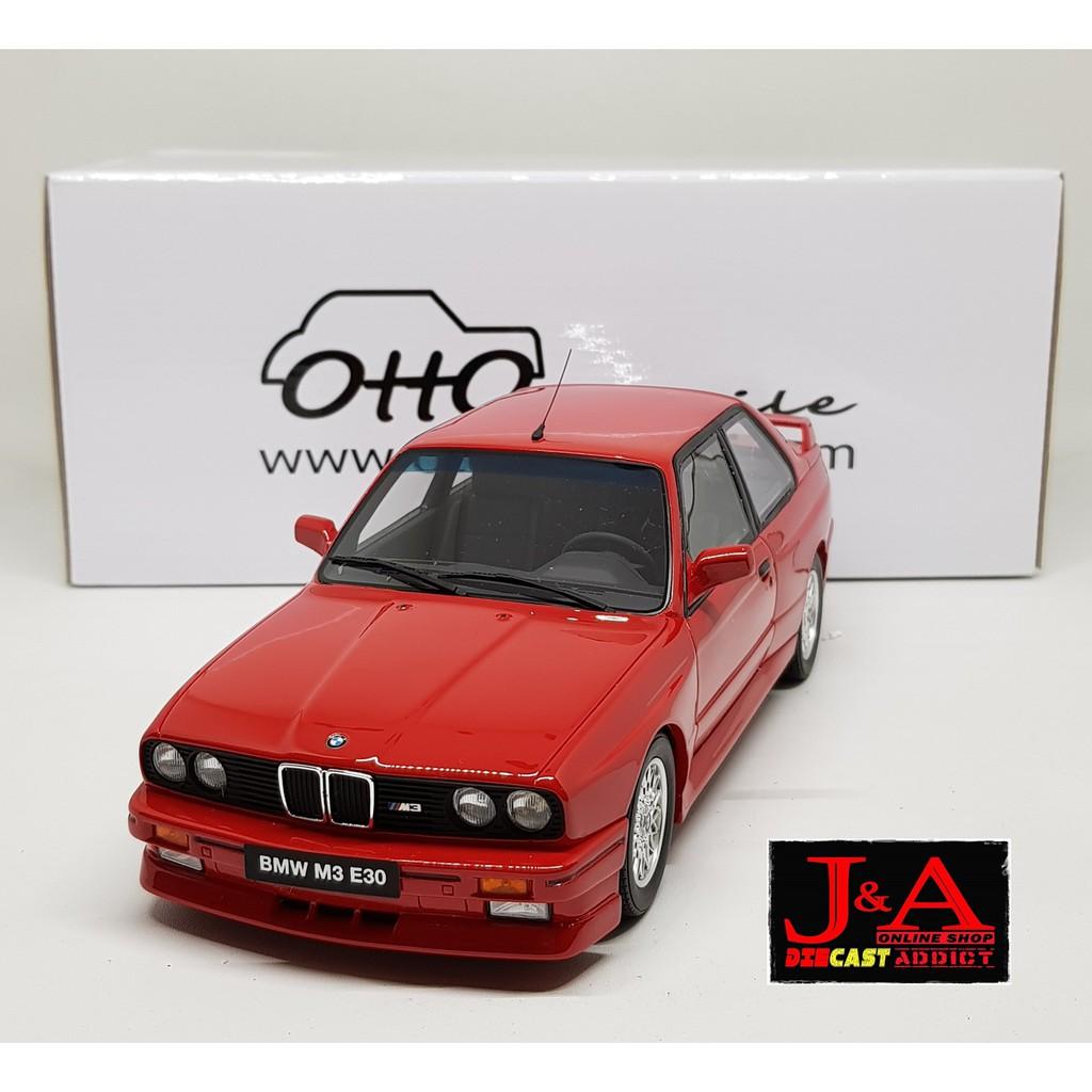 BMW E30 M3 >> Bmw E30 M3 Skala 18 Otto Mobile Diecast Miniatur