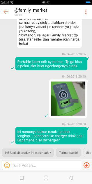 2018-06-10 11:02 | JUICER PORTABLE USB