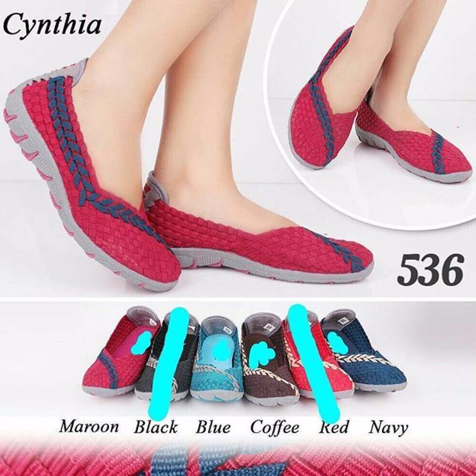 Cyntia Sepatu Anyaman X42008 Biru - Info Harga Terbaru dan Terlengkap f072248c95