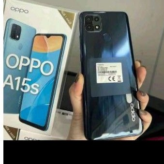 Oppo A15s 4/64 bekas second like new
