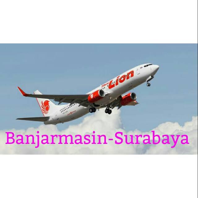 Tiket Pesawat Lion Air Banjarmasin Surabaya