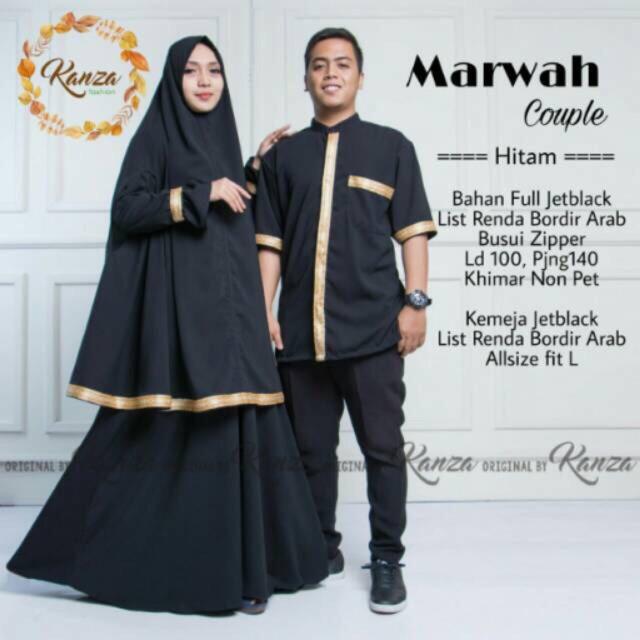 Gamis Syar I Couple Suami Istri Shopee Indonesia
