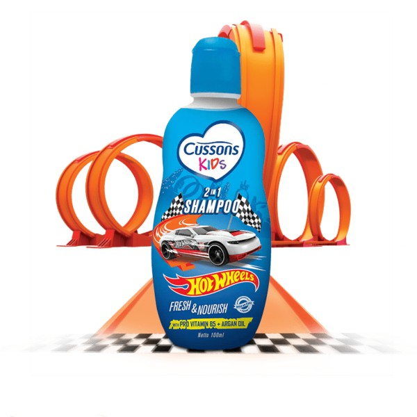 ORIGINAL Cussons Kids Shampoo 200ml & 100ml BPOM / Cussons Shampoo Anak / LEDI MART-2