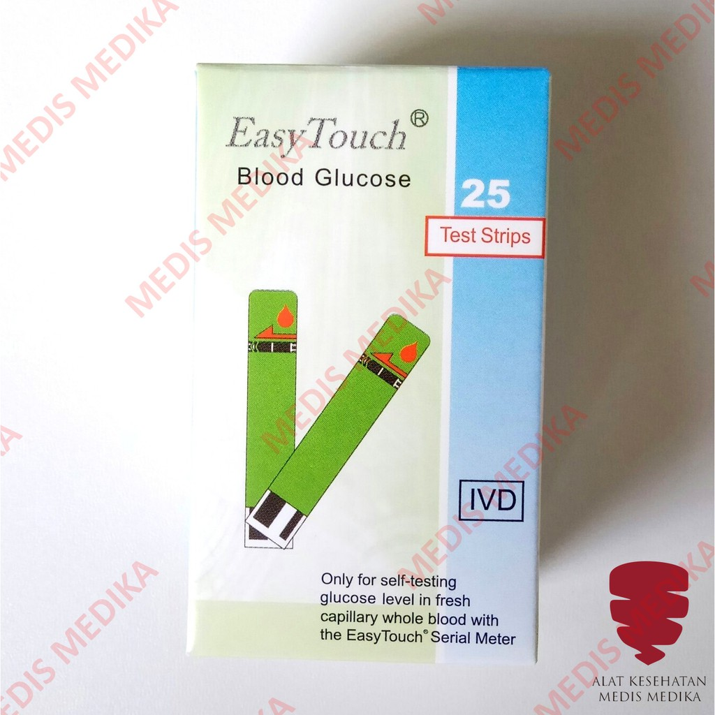 Up To 55 Discount From Brand Easytouch Easy Touch Test Strips Cholesterol Strip Tes Kolesterol Glucose Cek Gula Darah Refill Isi 25