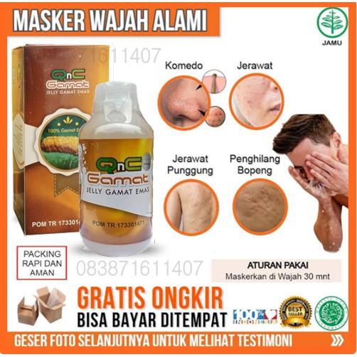 Cara Menggunakan Masker Qnc Jelly Gamat Untuk Jerawat