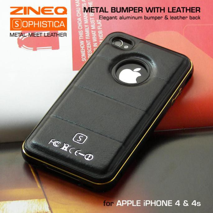 Apple iPhone 4 / 4G / 4S - Hardcase Ino Metal Motomo Aluminium | Shopee Indonesia