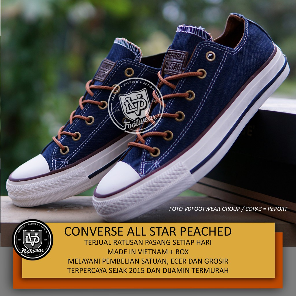 Sepatu converse premium putih grade A ( made in vietnam )  d12074237a