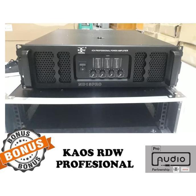 Power Amplifier RDW ND15 PRO Power Ampli subwoofer Power ampli 4 chann   Amplifier