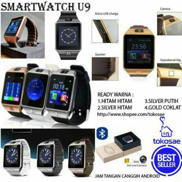 Smartwatch Lemfo Les 1 OS Android Jam Tangan HP Terbagus | Shopee Indonesia