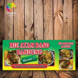 Contoh Banner Mie Ayam Psd - desain spanduk kreatif