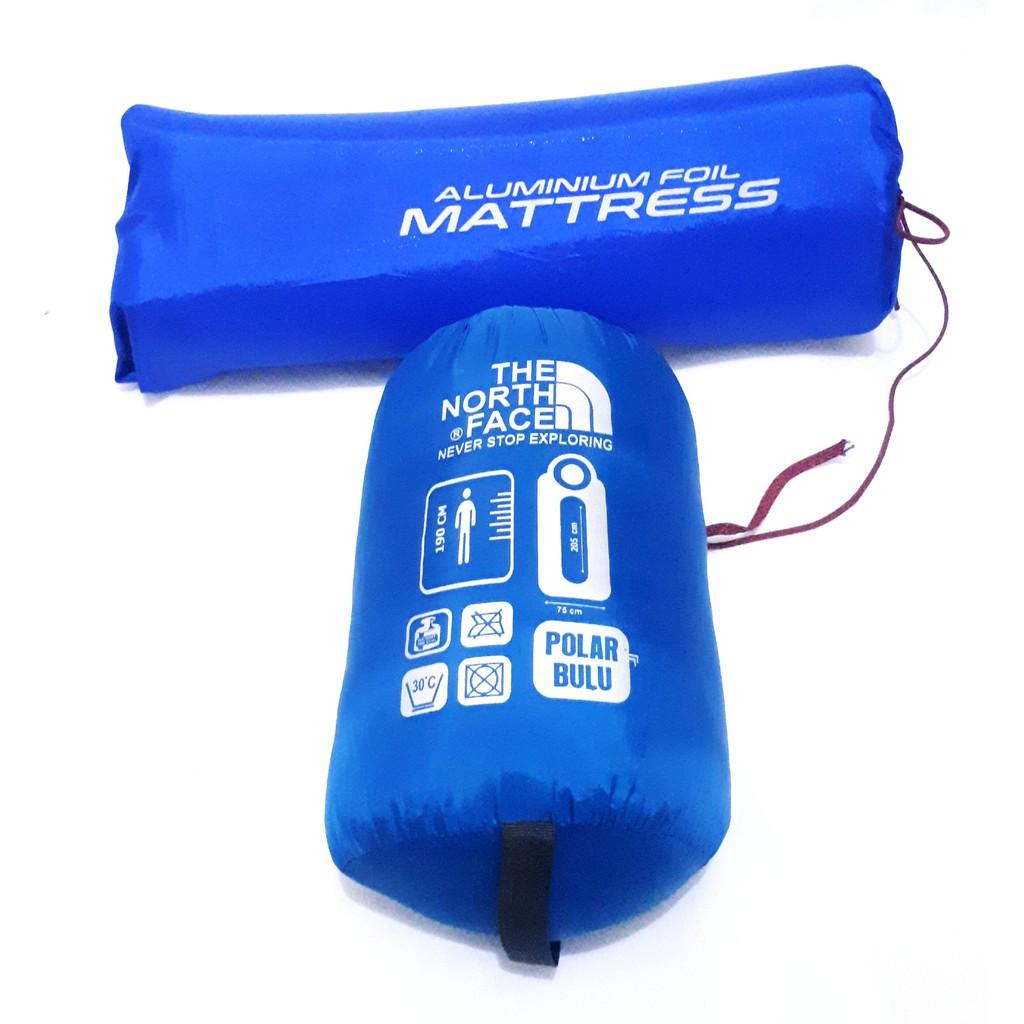 Paket` Sleeping Bag Polar Bulu & Matras Aluminium Foil` Alumunium SleepingBag Tebal Aluminum SBB | Shopee Indonesia