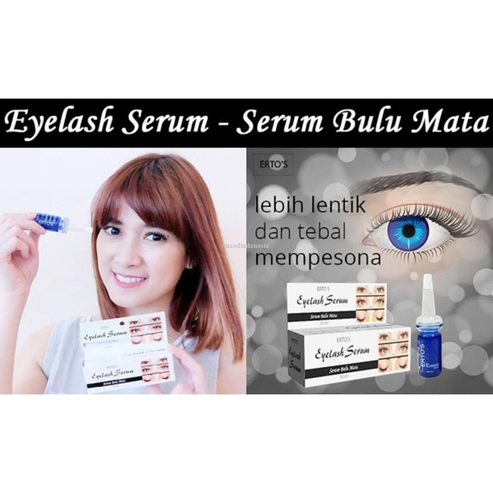 Jual Eyelash Serum Penumbuh Alis Bulu Mata Secara Alami Terampuh Ertos Pelebat Vitamin Terbukti Limited Shopee Indonesia