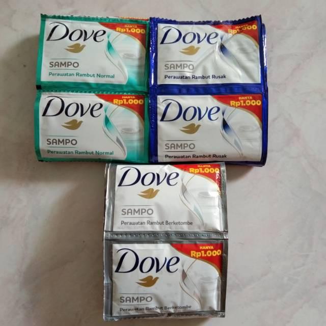 ☘️ MUMTAAZZTORE ☘️ UNILEVER Dove Shampo Shampoo RENCENG | 12 SACHET X 9ML