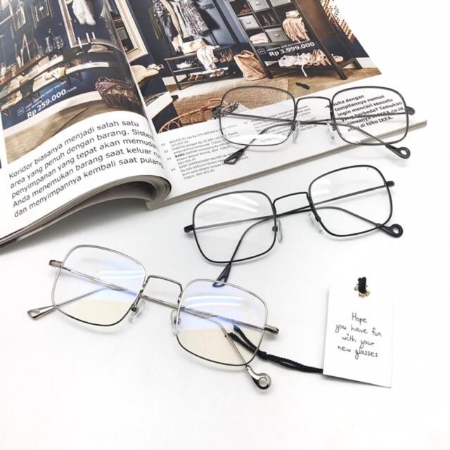 frame kacamata nisa sabyan kotak metal paket lensa  867a20b527