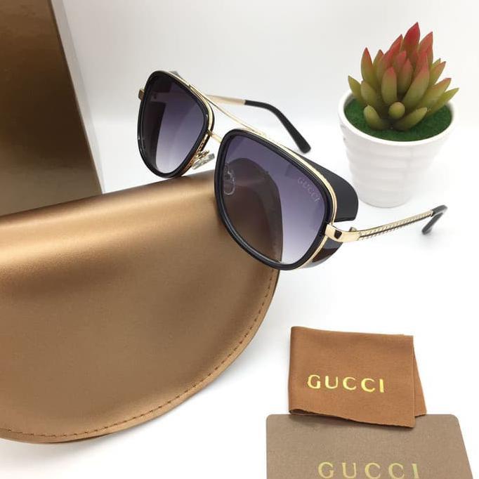 aef451fd39cf Kacamata Gucci Matsuda 8639 Black Gold Fashion Wanita Kacamata Gaya -Obral