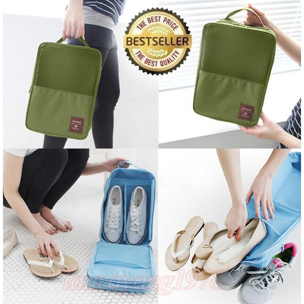 Korea Monopoly Travel Shoe pouch ver 2   Shoe Bag organizer   Tas Sepatu    Sandal  fe0b76abcb