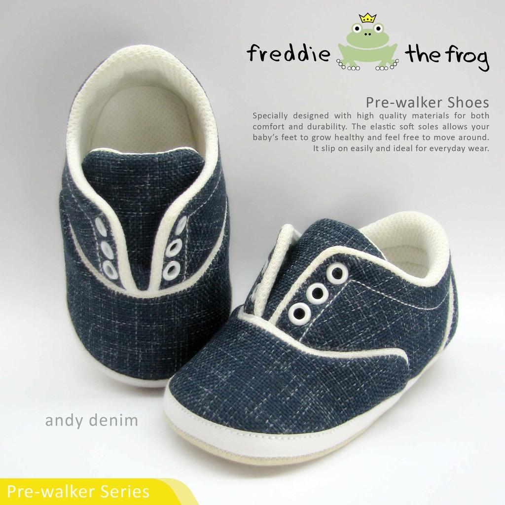 Sangria Moccs Prewalker Shoes Freddie The Frog Sepatu Bayi Baby Kani Shopee Indonesia