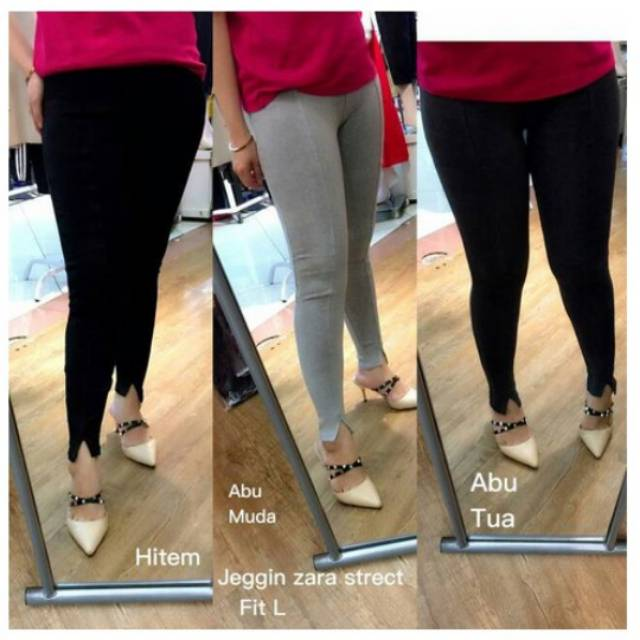 Celana Legging Zara Polos Import Shopee Indonesia