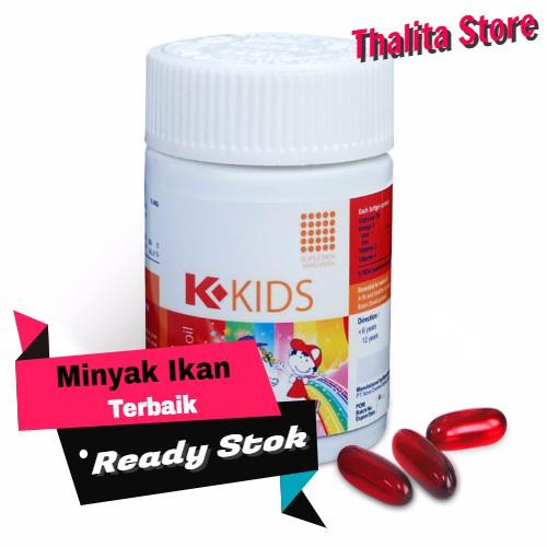 K Kids Omega Minyak Ikan Vitamin Otak Untuk Anak Usia 7 Tahun