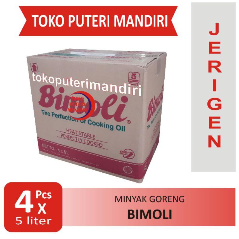 Bimoli Minyak Goreng Jerigen 5 Liter Dus isi 4