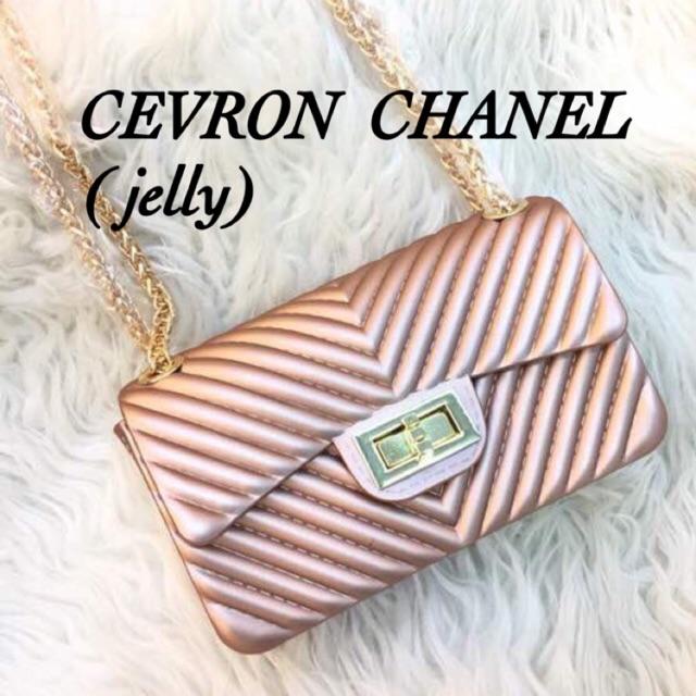 chanel cevron uk 22 jelly mate matte tas selempang wanita pesta CHEVRON  fashion batam import POLOS  a016417b8d