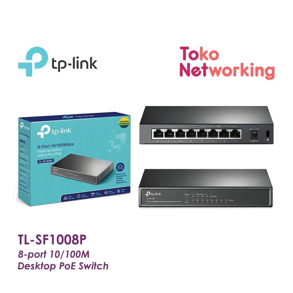 Tp Link Tl Sf1008d 8 Port 10100mbps Desktop Switch Abu Update 8port 10 100mbps