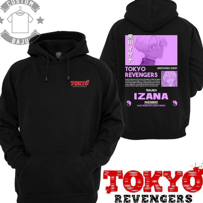 Sweater Hoodie Izana Kurokawa Tenjiku Anime Tokyo Revengers 538 - M