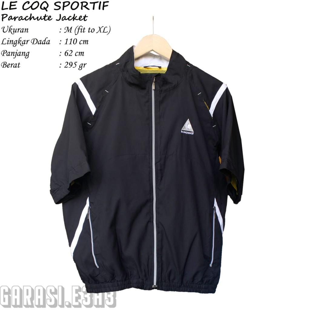 LE COQ SPORTIF _ Parachute Jacket _ Jaket Parasit Pendek _ Thrift Shop
