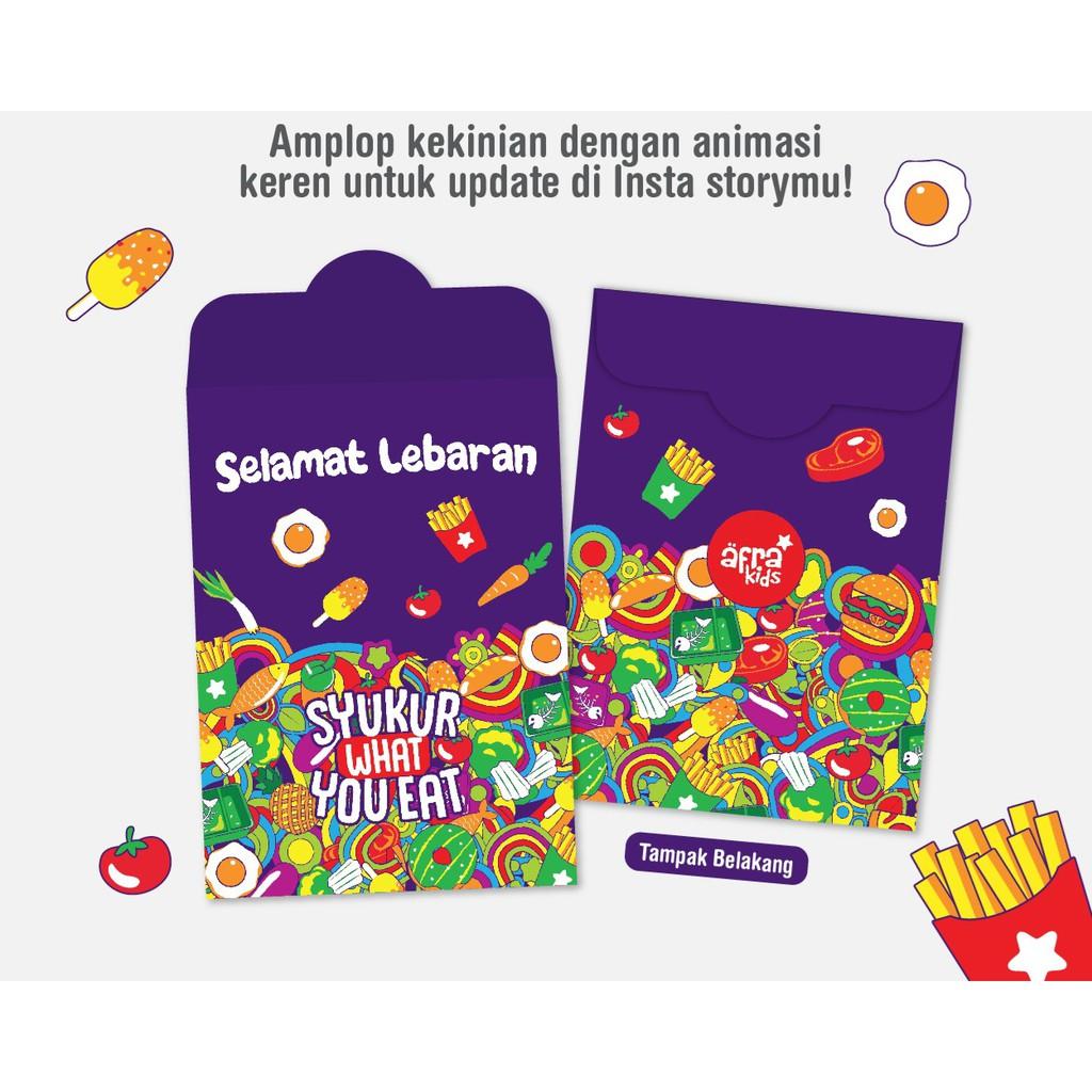 Amplop Lebaran Afrakids Filter Animasi Bergerak Lucu Di Instastory Shopee Indonesia