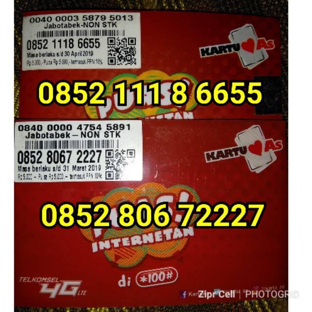 Nomor Cantik Nocan Triple Kartu Perdana Simcard Telkomsel Simpati 4G LTE Segel Pulsa 3000   Shopee Indonesia