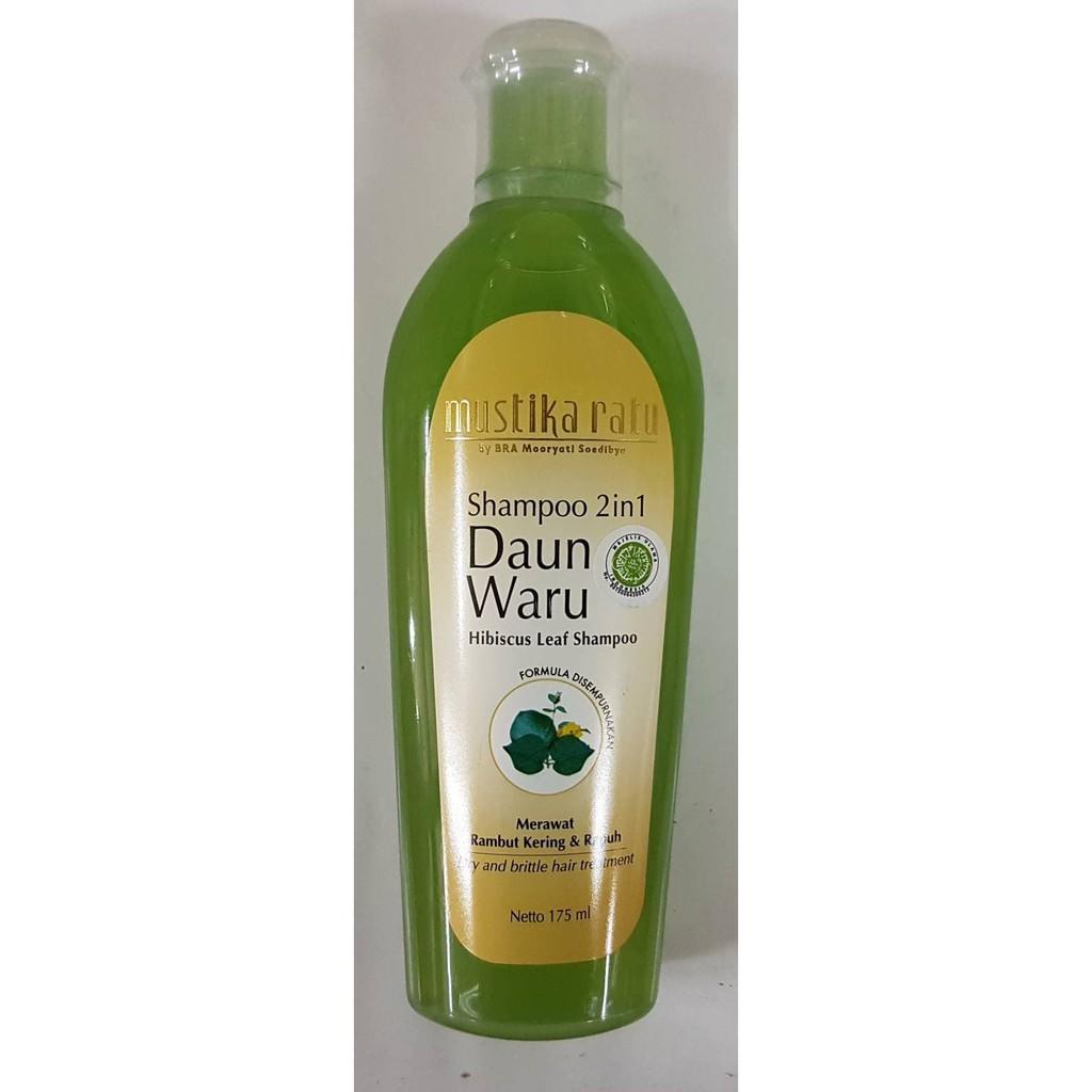Mustika Ratu Shampoo Daun Landep Menjaga Kilau Alami Rambut Sehat Best Seller Perawatan Bayam 175ml Akar Kuat Dan 175 Ml