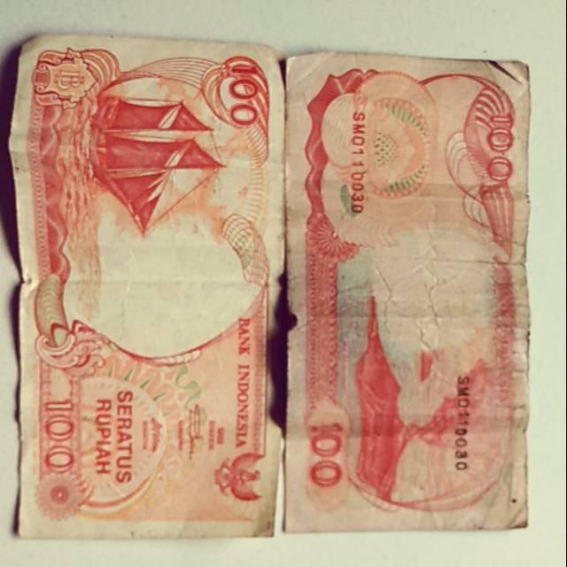 Uang 100 Rupiah lama