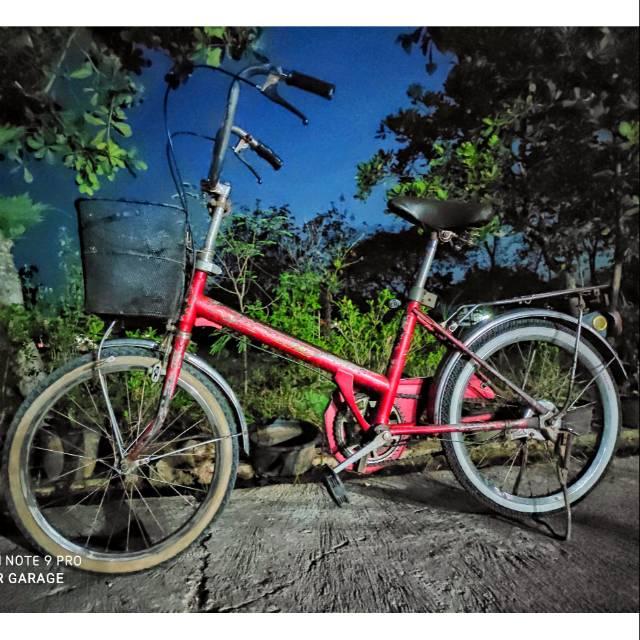 Sepeda Mini Minion Orinan Jepang Apolo Appolo Ukuran 20 Langka Kondisi Full Original Lengkap Murah Shopee Indonesia