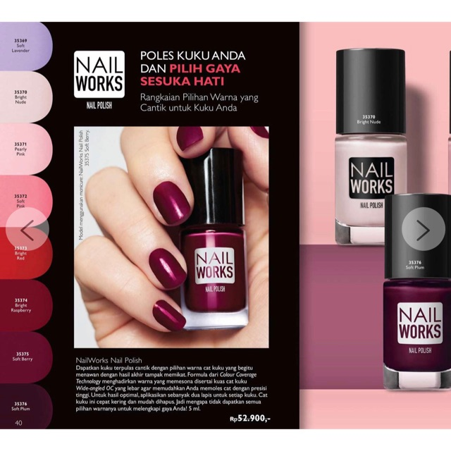Promo Bulan November Nail Polish Oriflame Original Shopee Indonesia