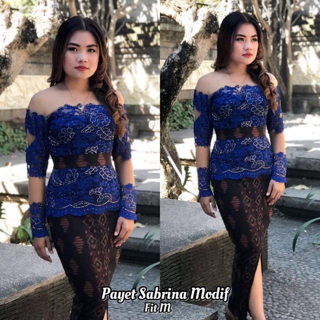 Kebaya Payet Sabrina Modifikasi