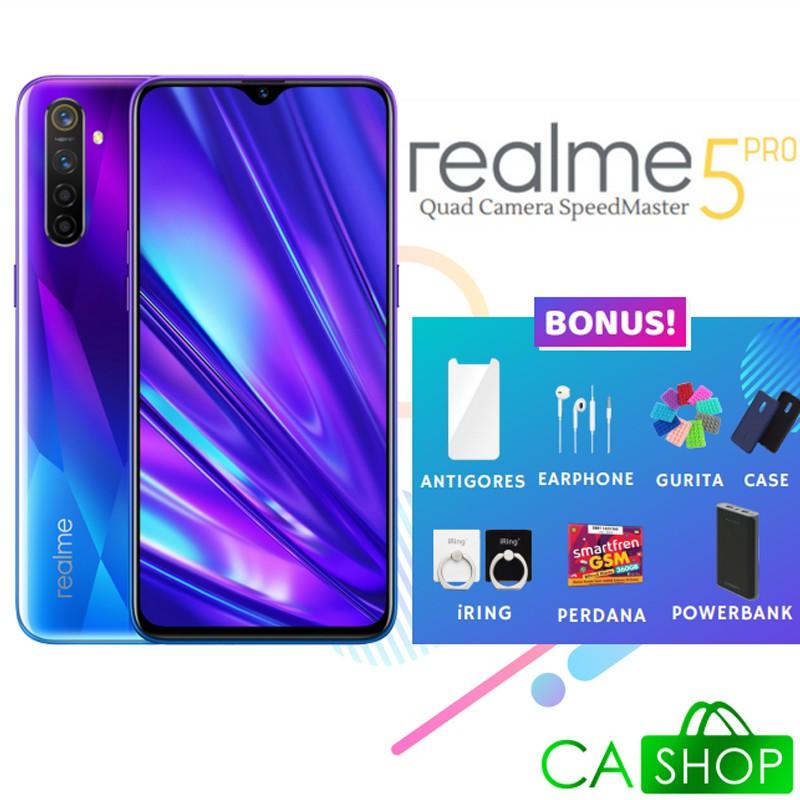 Realme 5 Pro 8gb 128gb 8 128 New Baru Original Garansi Resmi Real Me Shopee Indonesia