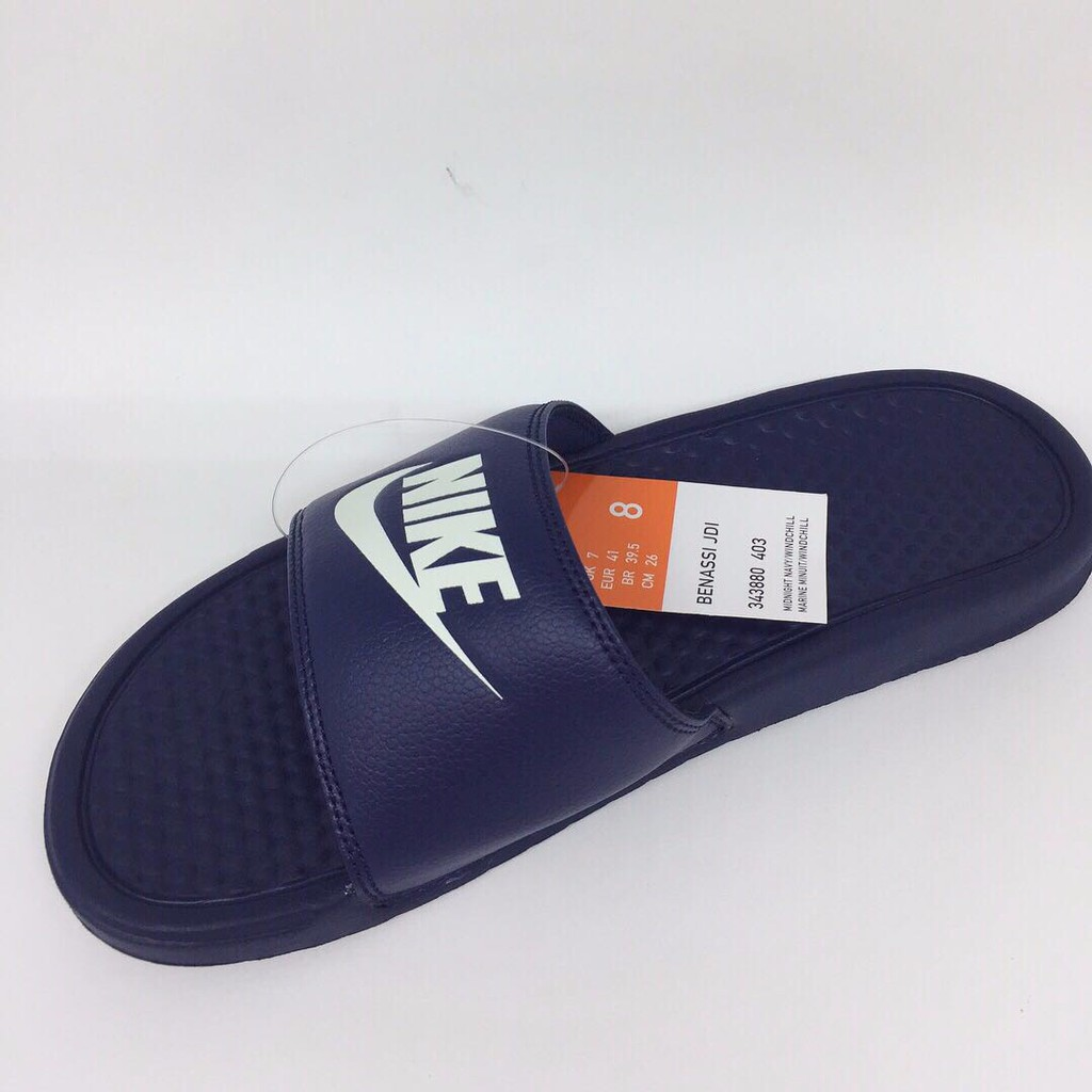 5605a0283a8f Sandal nike original Benassi JDI navy new 2018