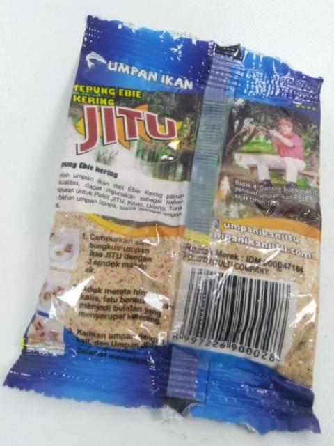 Umpan Mancing Jitu Biru Tepung Ebie Kering Umpan Ikan Mas Amis Ebi Shopee Indonesia