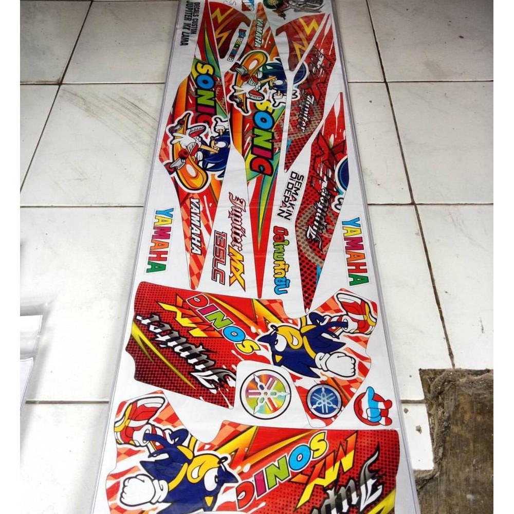 Sticker Striping Variasi Thailand Thailook Jupiter Mx 135 New Lama Spark Shopee Indonesia