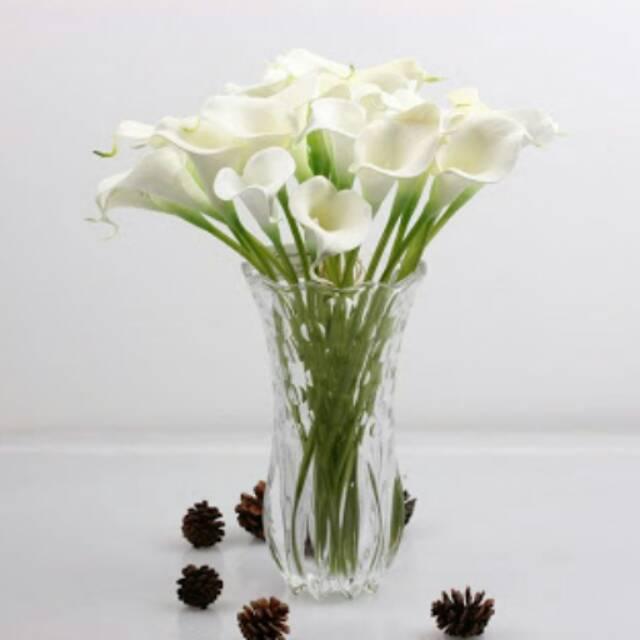 10 pcs calalily latex bunga palsu calla lily artificial  d244af4a37