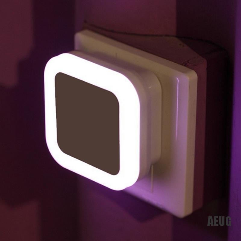Au Auto Led Light Induction Sensor Control Bedroom Night Lights Bed Lamp Us Plug Shopee Indonesia