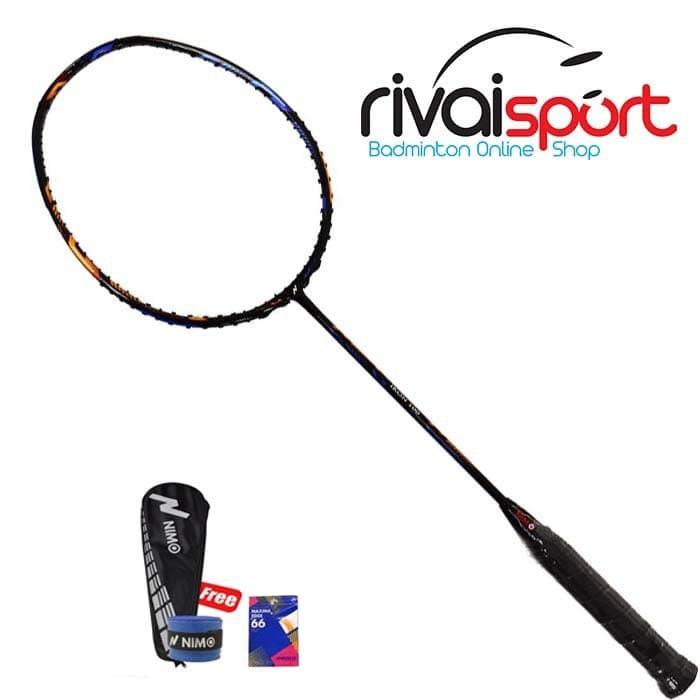Raket Badminton Nimo IKON 100 - BLACK