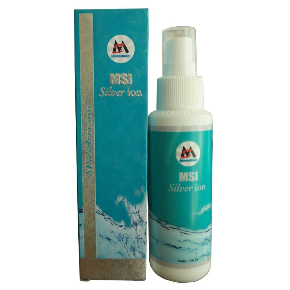 Msi Silver Ion Spray 100 Ml Shopee Indonesia Perak Original Member