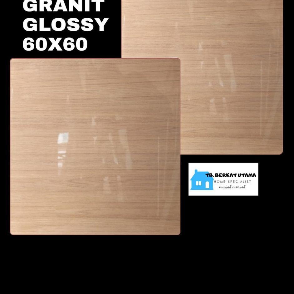 Big Promote GRANIT GLOSSY 60X60 MOTIF KAYU WOOD HABITAT - GRANIT LANTAI , GRANIT DINDING, GRANIT KAM