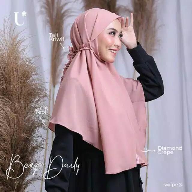 Termurah Hijab Bergo Tali Kriwil Bergo Murah Hijab Murah Hijab Bergo Murah Bergo Tali Murah Shopee Indonesia