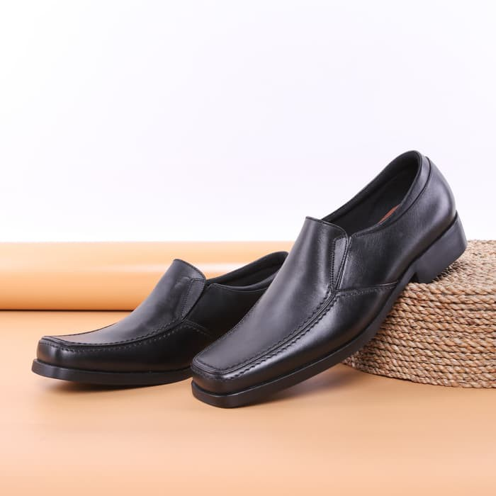 Sepatu Pdh Pendek Kulit Model Tali Fashion Gs367 Sepatu Pantofel