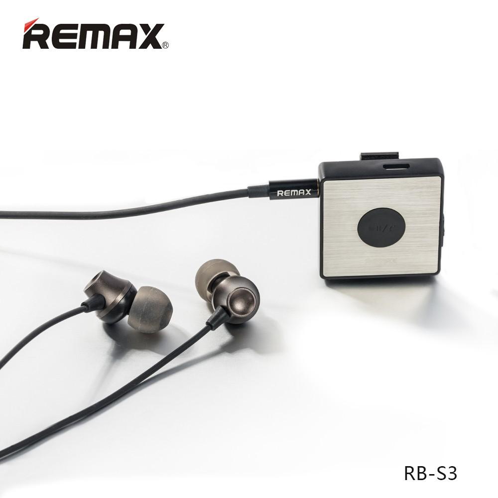 Remax Rb S7 Headset Wireless Bluetooth Original Untuk Lari Shopee Handsfree Earphone Rm 305m With Volume Control Indonesia