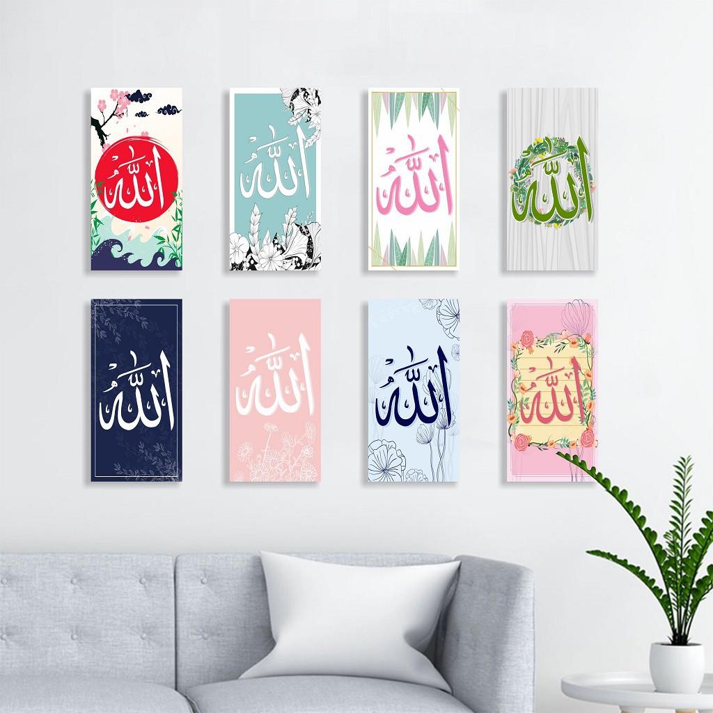 Kaligrafi Minimalis Wall Decor Poster Dinding Ruang Tamu Keluarga Hiasan Dinding Kamar Shabby Chic Shopee Indonesia