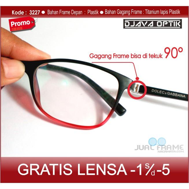 Kacamata Anti Patah + Lensa Minus Baca Antiradiasi Komputer - Kacamata Frame  Hitam Pria Wanita 1d1fb546c8