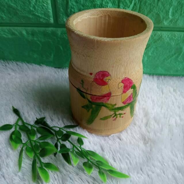 Pot Bambu Unik Shopee Indonesia